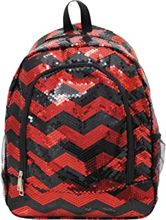 sequin cheer backpack