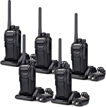 Best Retevis RT27 Walkie Talkies for Adults Rechargeable Long Range 2 Way Radio Anti Fall 22 CH VOX Two Way Radio(Black,5 Pack) Review