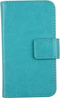 Gukas Color Design PU Wallet Flip Leather with Card Slots Cover Skin Protection Case Shell for Elephone S8 6