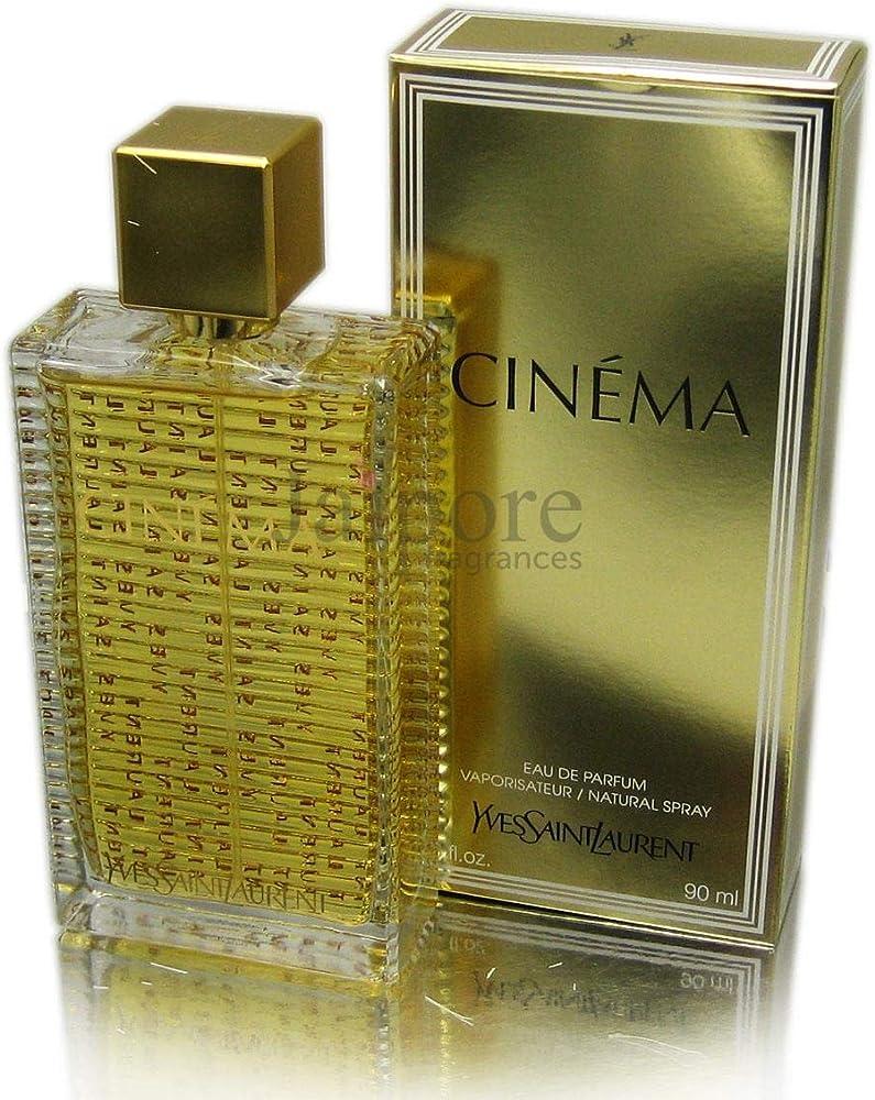 Yves saint laurent cinema edp 90 ml spray,eau de parfum da donna 134419