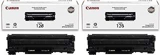 Canon 3500B001AAX2 Original 128 Toner Cartridge, Black, 2 Pack