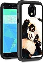 Galaxy J7 2018 case,J7 Aero/J7 Star/J7 Top/J7 Aura/J7 Crown/J7 Refine Case,Spsun Dual Layer Hybrid Hard Protector Cover Anti-Drop TPU Bumper for Samsung Galaxy J7 2018,Smile Panda