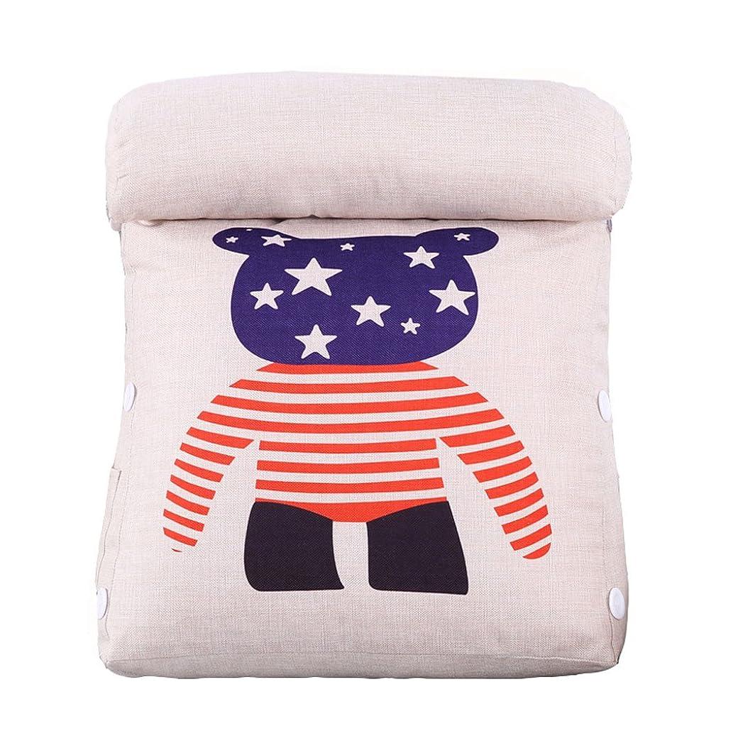マイクロ俳優バーマドオフィスクッションソファクッション枕カバーコットン枕 (色 : C, サイズ さいず : L l)