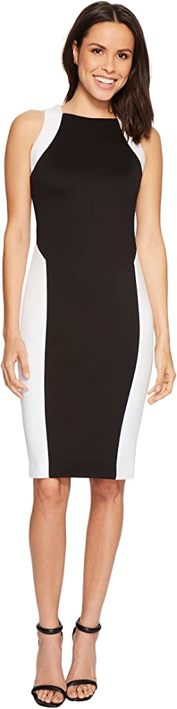 Calvin Klein - Color Block Sheath Dress CD8M17GR