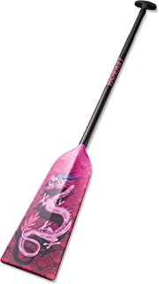 Hornet Watersports Dragon Boat Paddle Fixed Length Carbon Fiber Pink Dragon Lightweight IDBF Approved