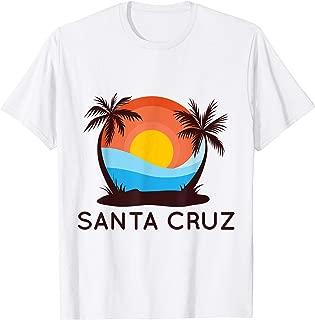 Santa Cruz Local Vintage Surfer T Shirt I Gift for Men Women