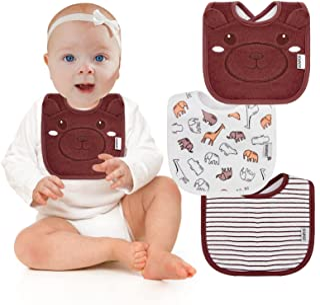 Baby Bibs for Boys and Girls Infant Newborn Bandana Drool Bibs Cotton Soft Absorbent Teething...
