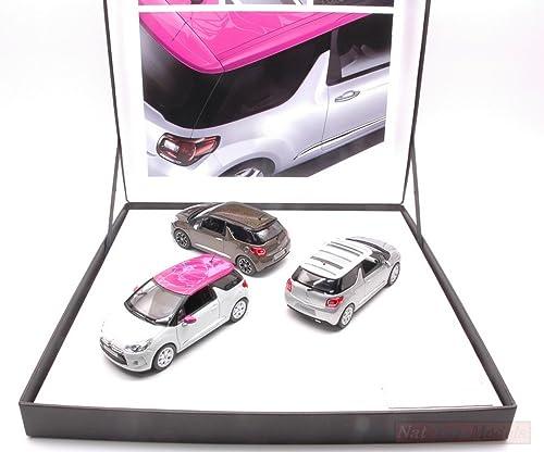 Norev NV155286 Coffret 3 Citroen DS3 2012 Ed.Limit.PCS 700 1 43 Die CAST Model Compatible avec