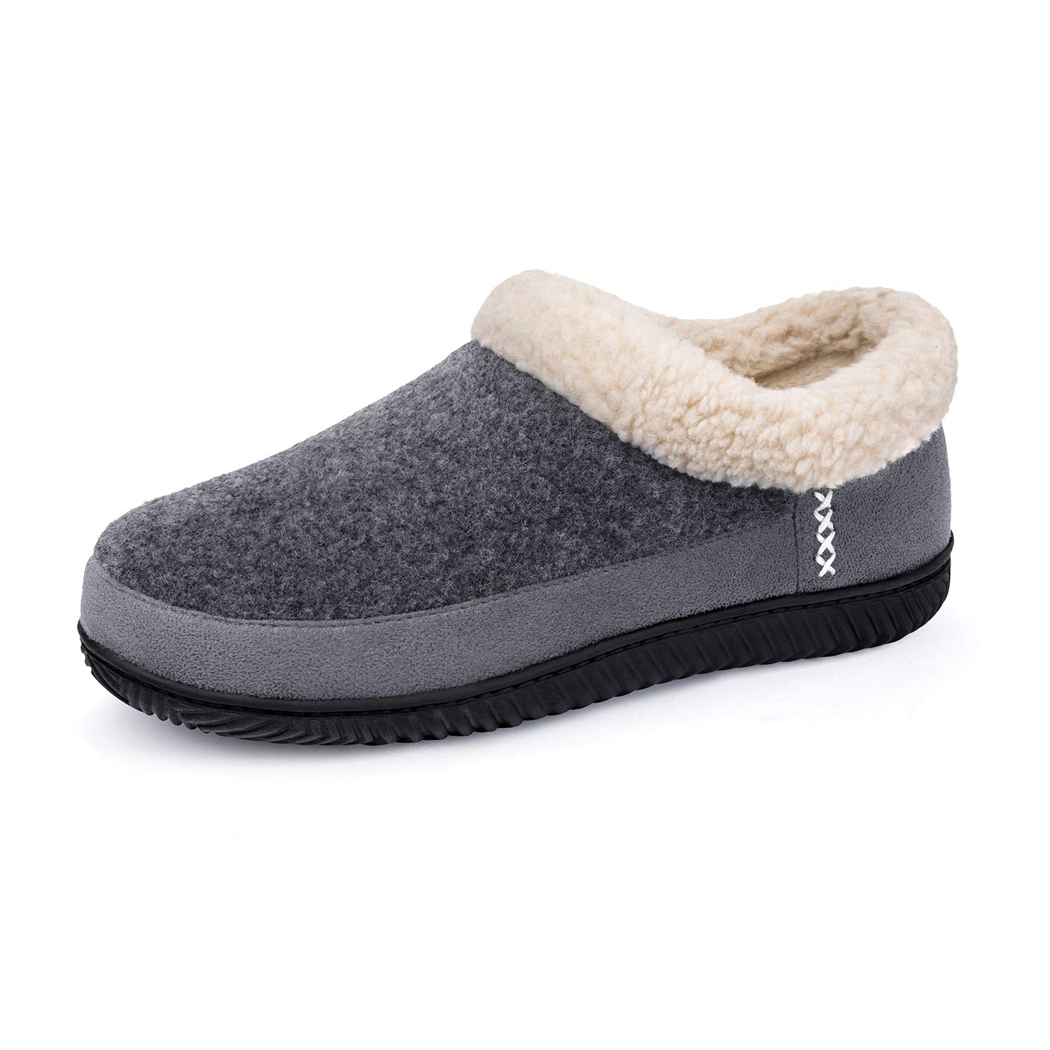 Image of Men's House Shoes with Memory Foam - Also available in Coffee Brown