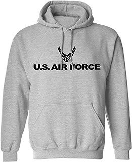 Air Force Hooded Sweatshirt in Gray