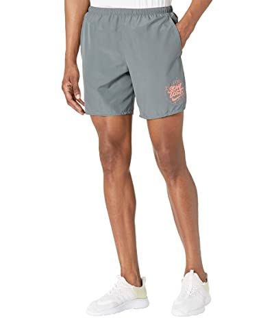 Nike Challenger Shorts 7 Brief Windrunner Graphic (Smoke Grey/Crimson Bliss) Men