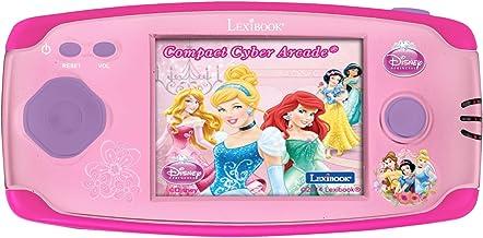 Disney Princess Consola con 150 Juegos Compact Cyber Arcade (Lexibook JL2365DP)