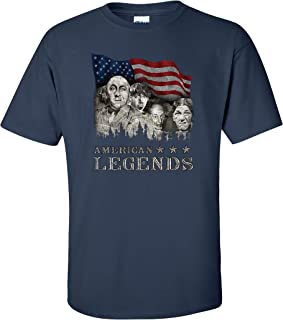 The Three Stooges T-Shirt Rushmorons American Legends