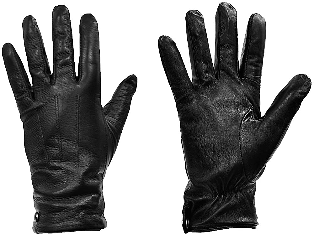 Most Popular MoDA Women's Ms. D.C. Touchscreen Texting Winter Genuine Leather Gloves