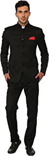 jodhpuri suit black