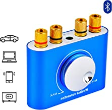 X35 Mini Amplifier 12V 5A Stereo Amplifier Hi-Fi Digital Amp Dual Channel 50W AUX/USB/Bluetooth Input for 4-8ohm 20-120W Speaker Amplifier Audio Amplifier for Car, Home tv
