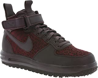 Nike Womens LF1 Flyknit Workboot Hi Top Boots Trainers 860558 Sneakers (US 7, deep Burgundy 600)