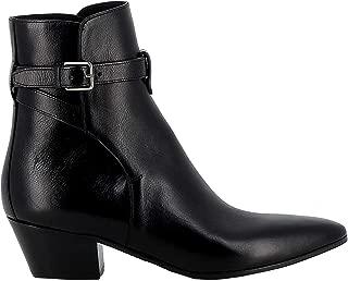 SAINT LAURENT Luxury Fashion Womens 5791690ZZ001000 Black Ankle Boots | Fall Winter 19