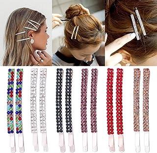 12 stuks strass haarspelden kristal haarspelden metalen haarspeldjes decoratie voor vrouwen meisjes