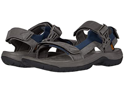 Teva Tanway Leather (Dark Gull Grey) Men