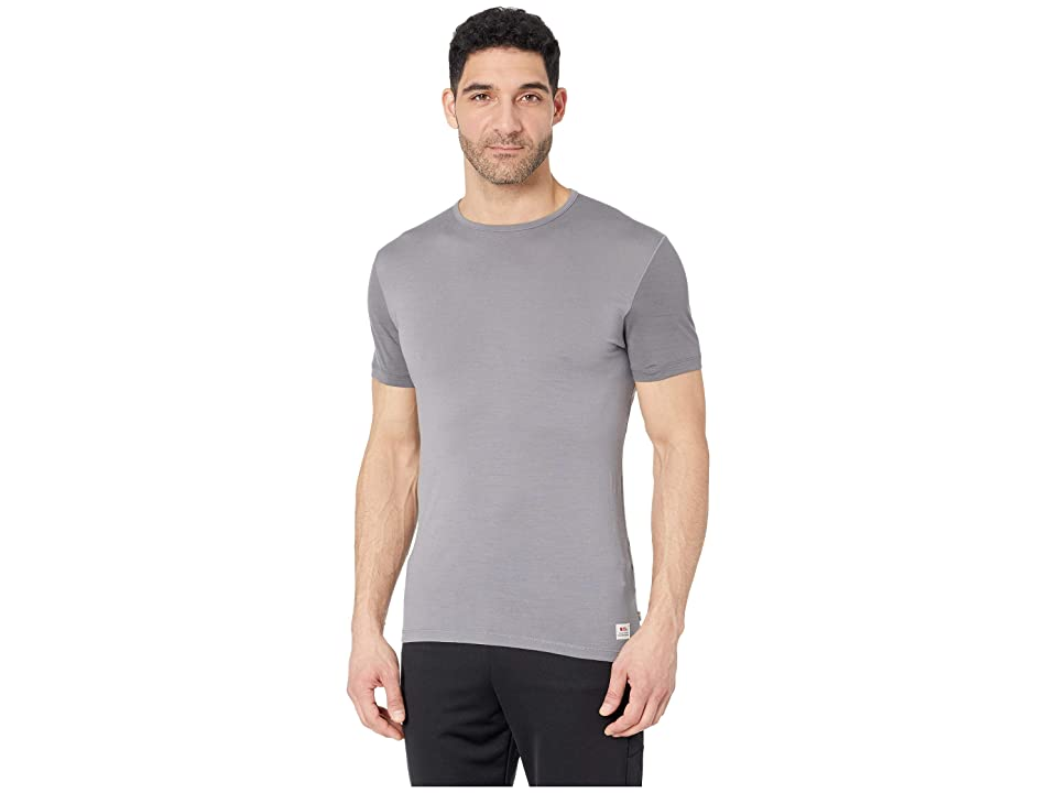 Fjallraven Keb Wool T-Shirt (Light Grey/Grey) Men