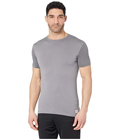 Fjallraven Keb Wool T-Shirt (Light Grey/Grey) Men