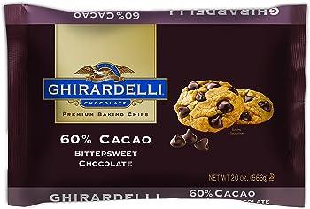 Ghirardelli 60% Cacao Bittersweet Chocolate Premium Baking Chips (20 oz.)