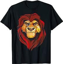 Disney Lion King Low Poly Mufasa Portrait  T-Shirt