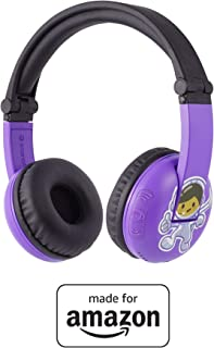 All-new, Made for Amazon, Bluetooth BuddyPhones | Play Time in Purple, ages 3–7