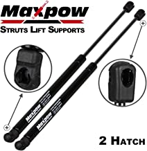Maxpow 2pcs Rear Tailgate Hatchback Liftgate Lift Supports Compatible With Saab 900 1994 1995 1996 1997 1998, Replacement For Saab 9-3 1999 2000 2001 2002 SG218008 WGS413 (with Rear Wiper)