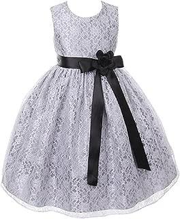 Best silver flower girl dresses uk Reviews