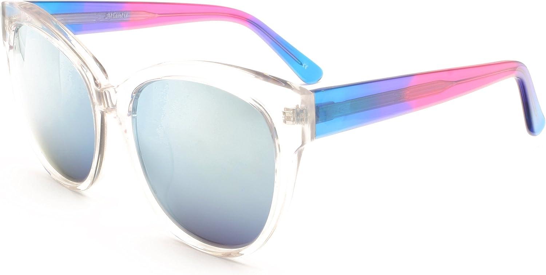 Atlantis Transparent Woman's Designer Handmade Sunglasses