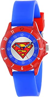 Superman Kids' SUP9010 Watch with Blue Rubber Band