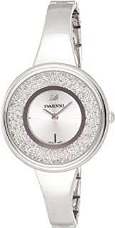 Ladies' Swarovski Crystalline Pure Silver Tone Watch 5269256
