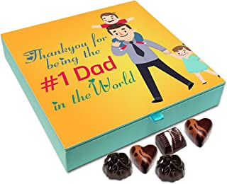 Chocholik Fathers Day Gift Box - Thank You for Being The Best Father in The World Chocolate Box - 9pc
