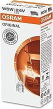 Osram 2845 ORIGINAL glazen knijpsokkel W5W, sokkel W2.1x9.5d, 24V, 1 lamp