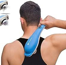 ماساژور سازنده کوبه ای TheraFlow Deep Tissue. ماساژور پشت ، تسکین عضلانی دستی برای شانه ، گردن ، پوست سر ، سر ، پا و بدن. 3 پیوست برای امتیازات Shiatsu & Trigger. هدیه ایده آل