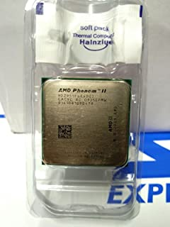 AMD Phenom II X4 955 Black Edition - Procesador de CPU de Cuatro núcleos (3,2 GHz, 6 MB, HDZ955FBK4DGM Socket AM3, 125 W)