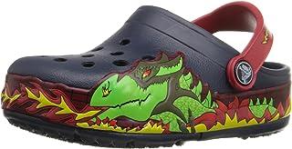 crocs Boy's Fire Dragon Clogs