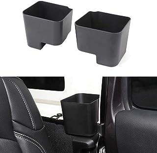 FFLSDR Car Seat Bracket Slot Pocket Slit Pocket Ball Seat Pocket Accommodating Cassette Storage Box