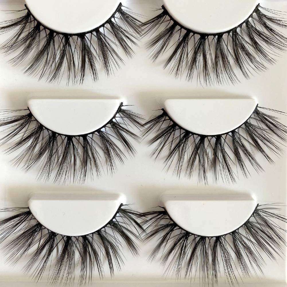 Sunniess Superlatite Hair Imported Fiber 3D Mink Eye lashes Handmade San Francisco Mall R False