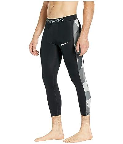Nike Tights 3/4 Camo 1 (Black/White) Men