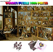 Kkxka Gallery On Brussels Wooden Adults Puzzle World Famous Painting Puzzle Puzzles Toys For Children(1000 Pieces)
