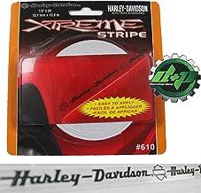 harley davidson motorcycle bike cycle pinstripe decal sticker truck car glass