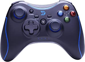 ZD-N+[2.4G] Wireless Gaming Controller for Steam,Nintendo Switch,PC(Win7-Win10),Android Tablet,TV Box (Blue)