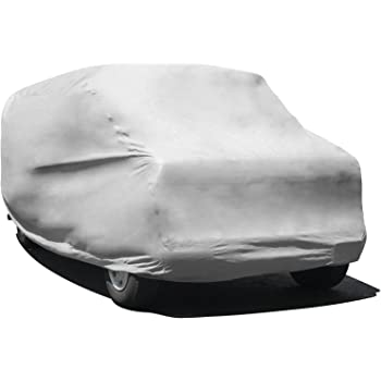 "Budge Rain Barrier Van Cover, Outdoor, Waterproof, Breathable, Van Cover fits Vans up to 228"" L x 72"" W x 72"" H, Gray, Size V3: Fits up to 19' 6"""