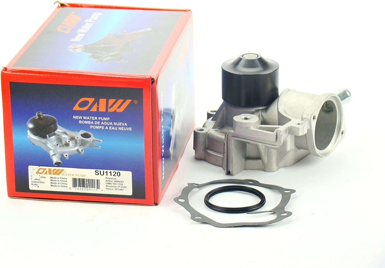 OAW SU1120 Engine Water Pump 1-HOSE for 35% San Jose Mall OFF model Forester Ba Subaru