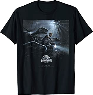 Jurassic World Owen Raptors Poster T-Shirt