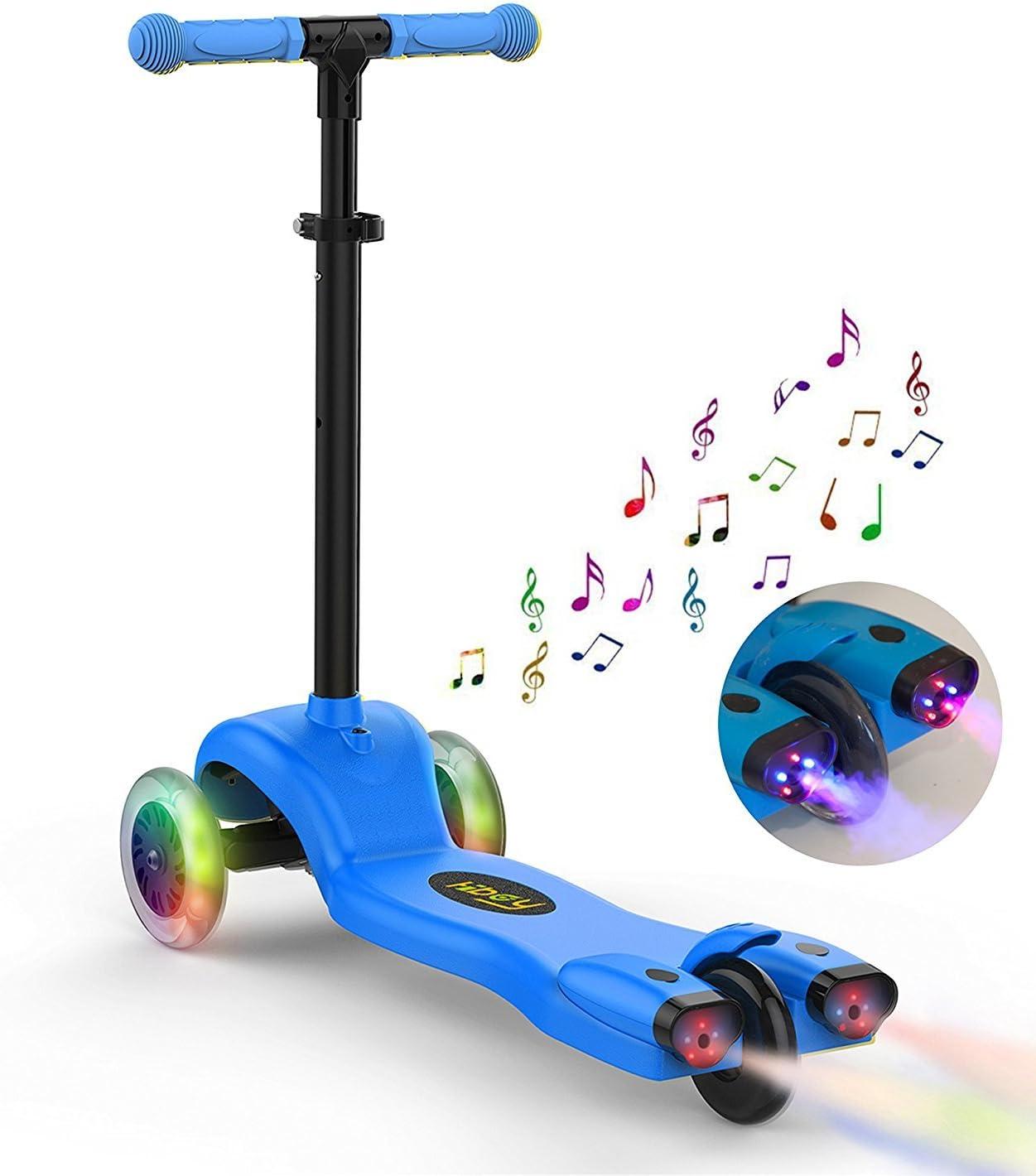 Hiboy S51 - Patinete con 3 Ruedas para niños con Música y ...