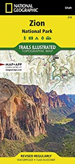 Zion National Park (National Geographic Trails Illustrated Map)